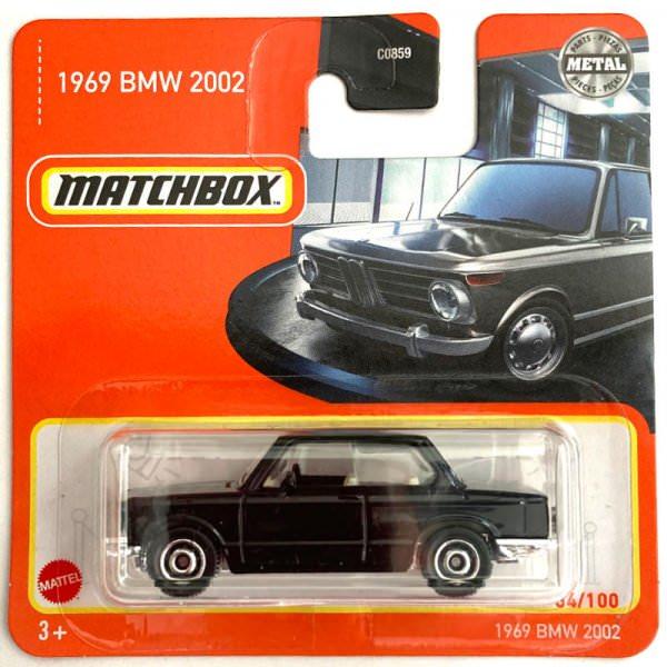 Matchbox | '69 BMW 2002 schwarz