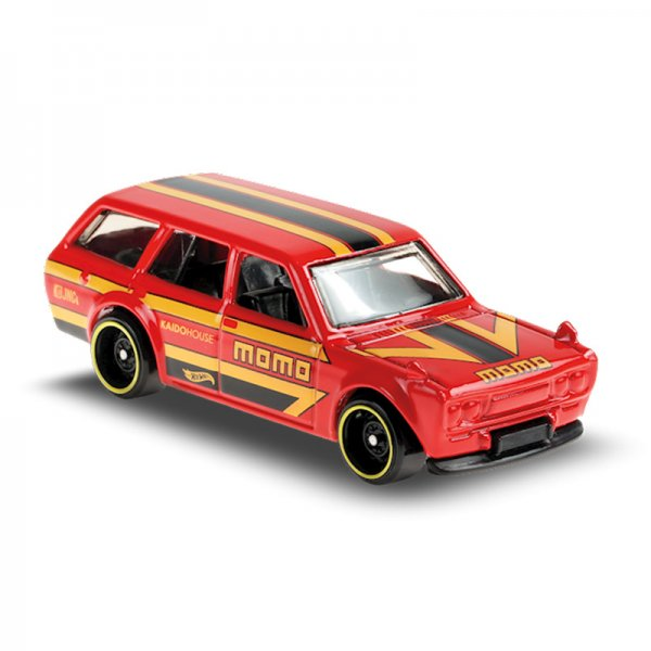 Hot Wheels | Datsun Bluebird Wagon 510 MOMO rot