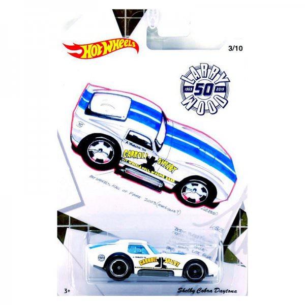 Hot Wheels | Larry Wood 50 Years of Design Shelby Cobra Daytona