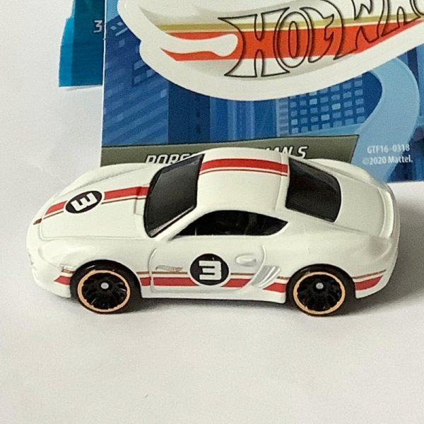 Hot Wheels | MYSTERY Models 2. Series 2021 #03 Porsche Cayman S white