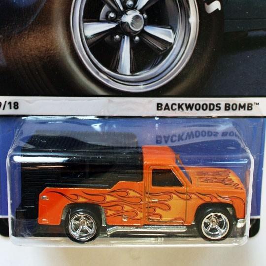 Hot Wheels | Real Riders Backwoods Bomb