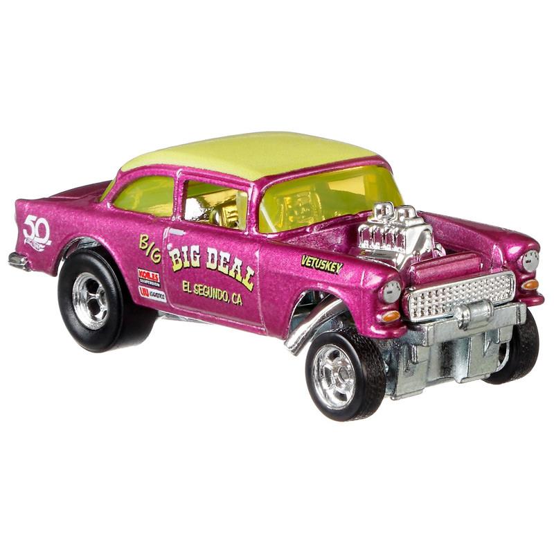 Hot Wheels 50th Anniversary Favorites 55 Chevy Bel Air Gasser 8//10