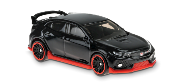 Hot Wheels | 2018 Honda Civic Type R black
