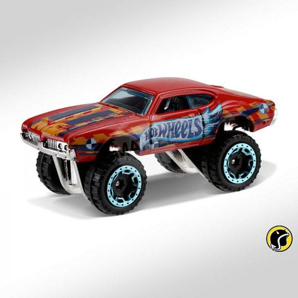 Hot Wheels | Olds 442 W-30 HW DARE DEVILS red