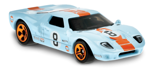 Hot Wheels | Ford GT-40 GULF hellblau