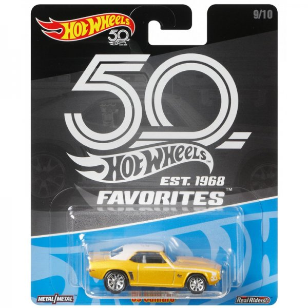 Hot Wheels | 50th Favorites 9/10 '69 Camaro gelb