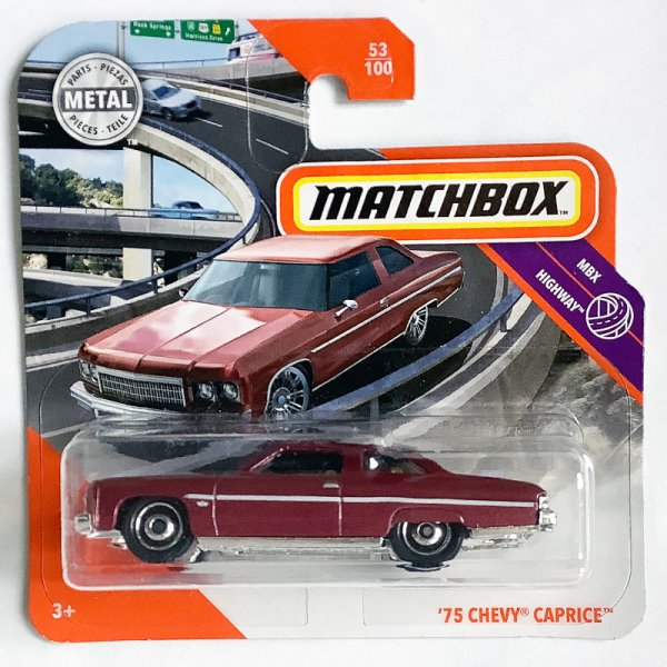 Matchbox | '75 Chevy Caprice red-brown metallic