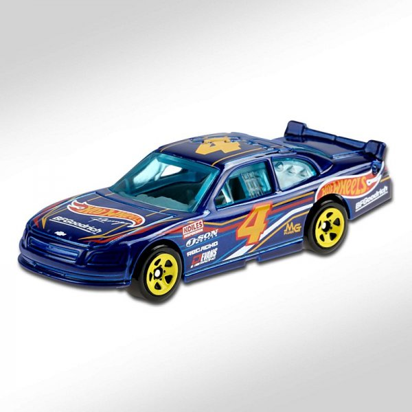 Hot Wheels | 2010 Chevy Impala Stockcar blue metallic