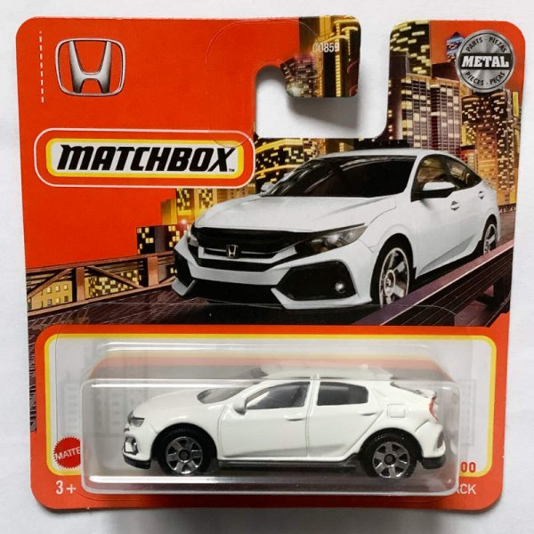 Matchbox | 2017 Honda Civic Hatchback weiß