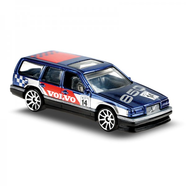 Hot Wheels   Volvo 850 Estate Rally blau / silber