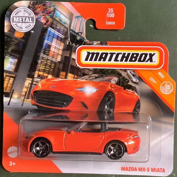 Matchbox | Mazda MX-5 Miata orange
