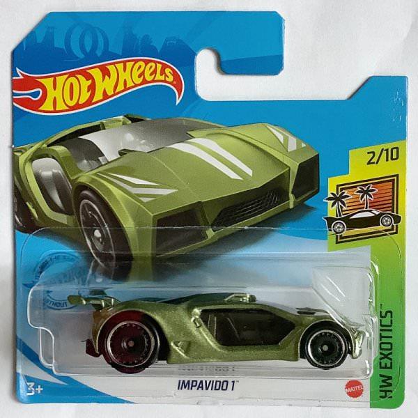 Hot Wheels | Impavido 1 light green metallic