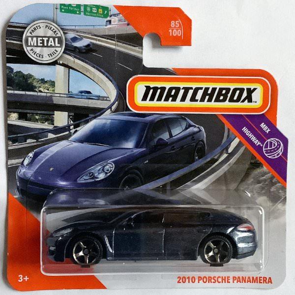 Matchbox | Porsche Panamera dunkelblaumetallic