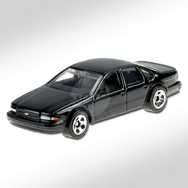 Hot Wheels | '96 Chevrolet Impala SS schwarz