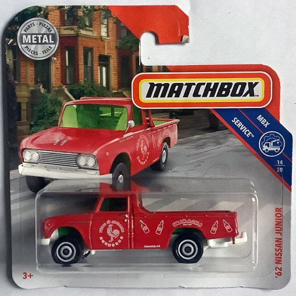 Matchbox   '62 Nissan Junior SRIRACHA red