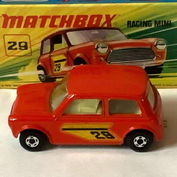 Matchbox | Superfast Racing Mini No 29 light red #24