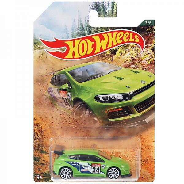 Hot Wheels | Backroad Rally Serie 03 Volkswagen Scirocco GT24 grün