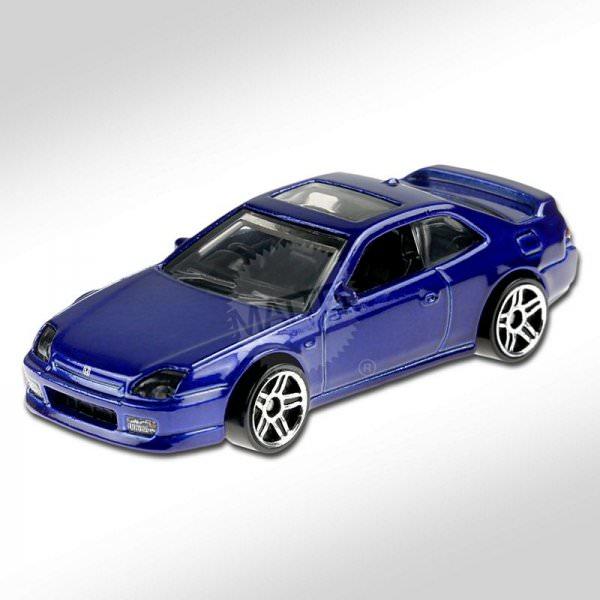 Hot Wheels | '98 Honda Prelude blue metallic