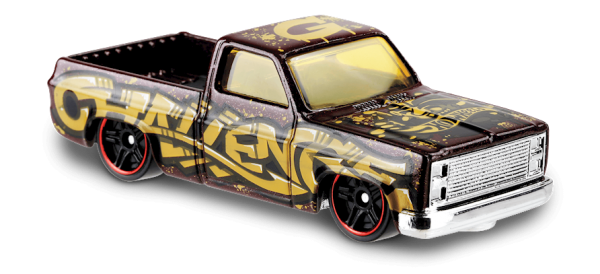 Hot Wheels | '83 Chevy Silverado Art Car with Graffiti