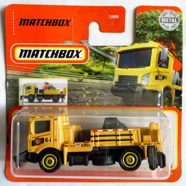 Matchbox   Road Stripe King dark yellow