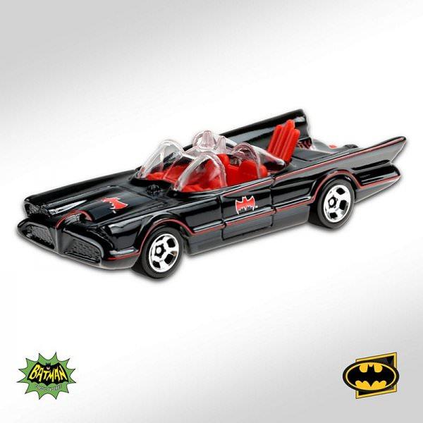 Hot Wheels | TV Series Batmobile black/red 2020
