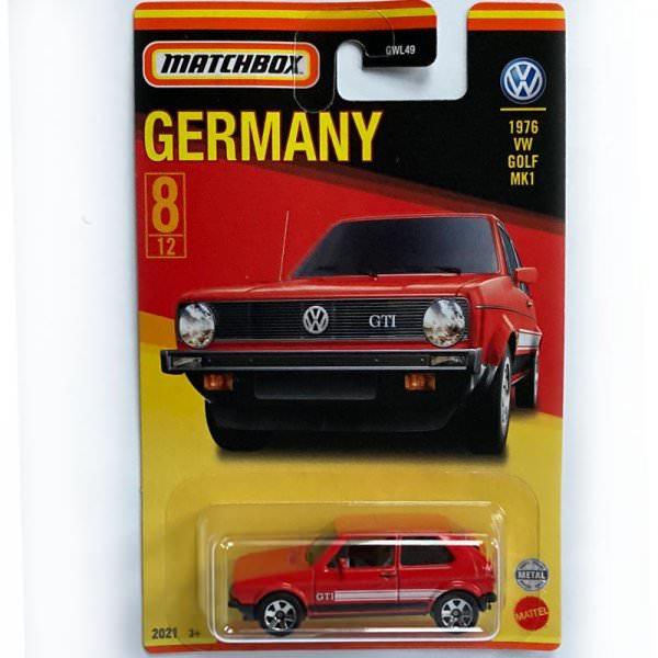 Matchbox   Best of Germany Series Mix 1 8/12 1976 VW Golf MK1 GTI red