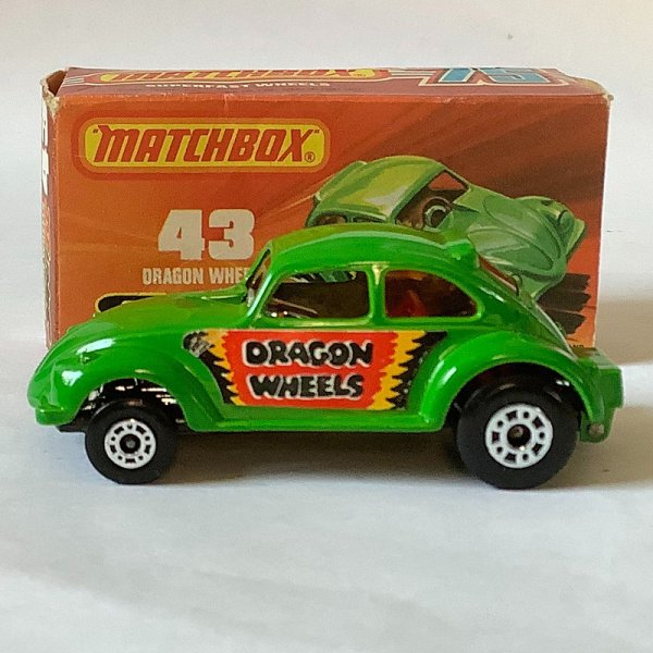 Matchbox | Superfast No.43 VW Beetle Dragon Wheels