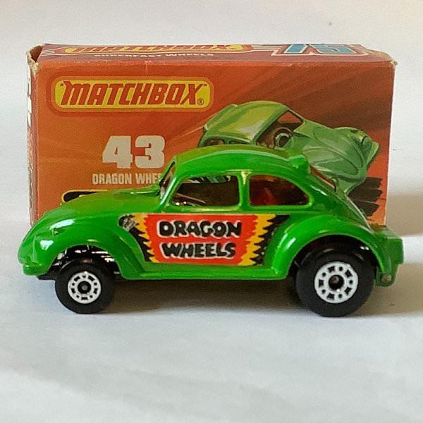 Matchbox | Superfast No.43 VW Käfer Dragon Wheels