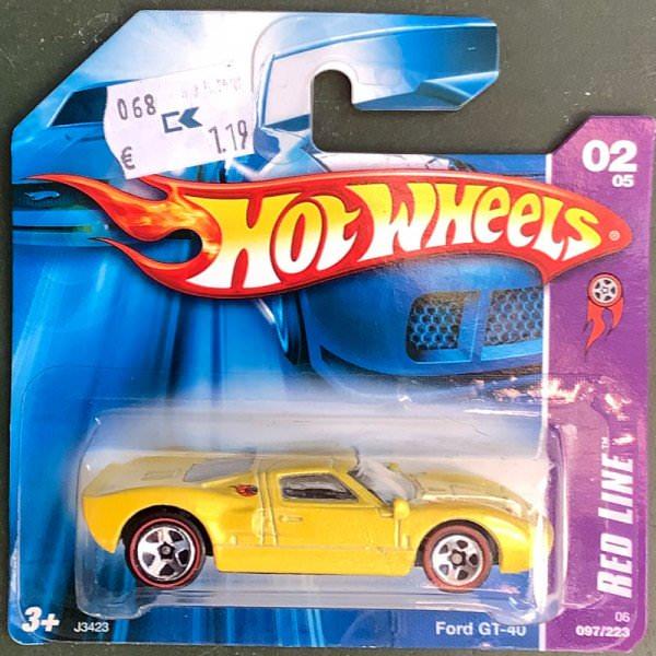 Hot Wheels | Ford GT-40 gelbmetallic 1