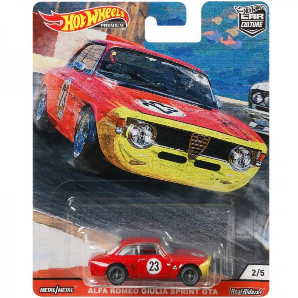 Hot Wheels | Alfa Romeo Giulia Sprint GTA #23 red
