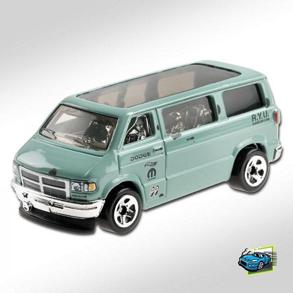 Hot Wheels | Dodge Van RYU pastellgrün