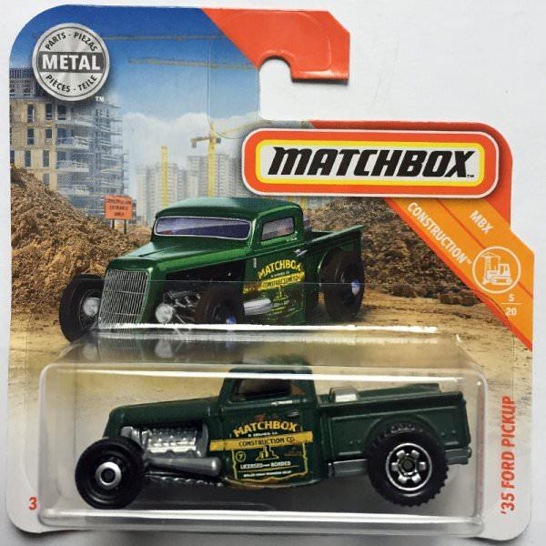 Matchbox | '35 Ford Pickup Hot Rod dunkelgrün