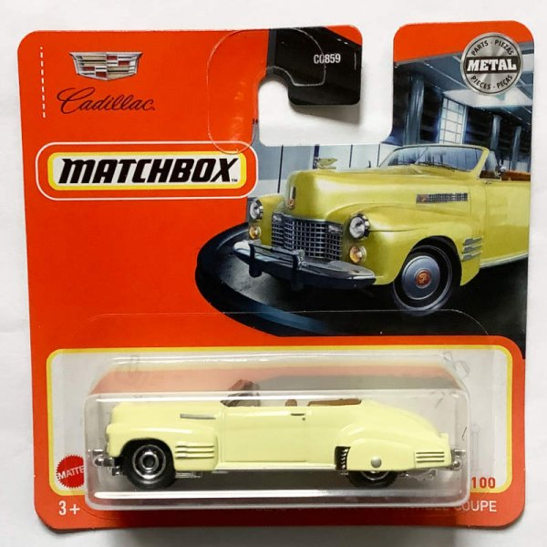 Matchbox | '41 Cadillac Series 62 Convertible Coupe pastellgelb