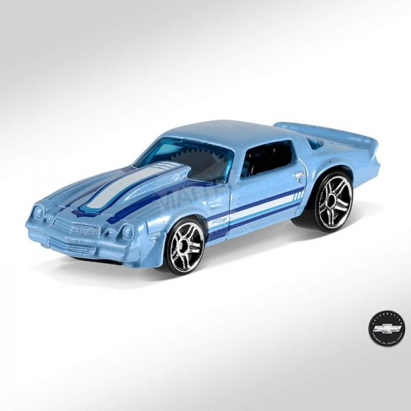 Hot Wheels | '81 Camaro light blue