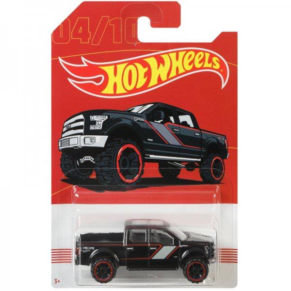 Hot Wheels | 04 15 Ford F-150 schwarz American Pickups Walmart Serie