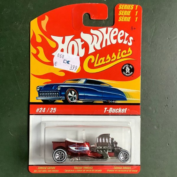 Hot Wheels   Classics Serie 1 #24/25 T-Bucket rotmetallic