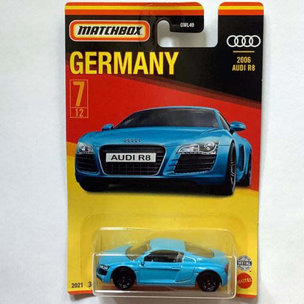 Matchbox | Best of Germany Series Audi R8 light blue