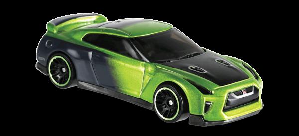 Hot Wheels | '17 Nissan GT-R (R35) Guaczilla TFox grünmetallic