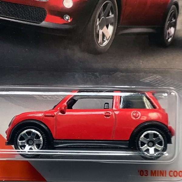 Matchbox | MINI Cooper S red / black US card