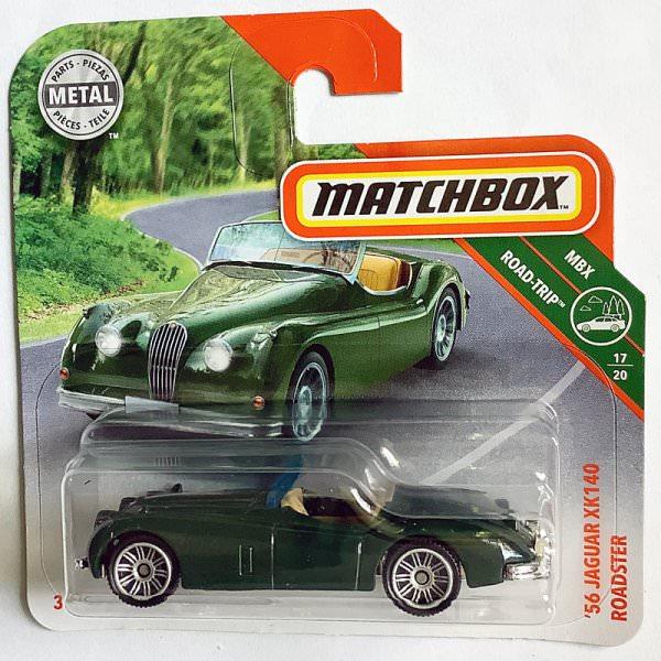 Matchbox | '56 Jaguar XK140 Roadster dunkelgrün