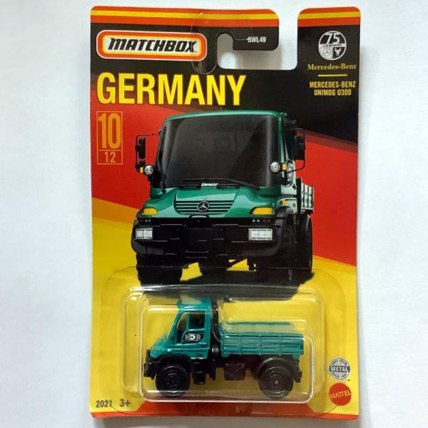 Matchbox | Best of Germany Mercedes Benz Unimog grün