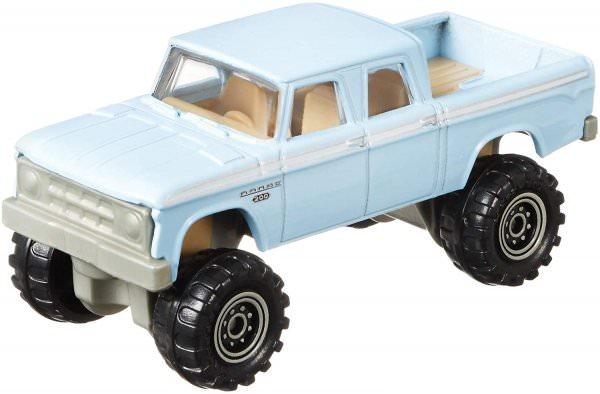 Matchbox | 1968 Dodge D200 hellblau