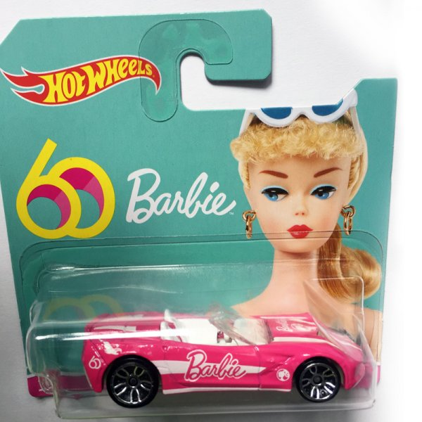 Hot Wheels | '14 Corvette Stingray BARBIE pink