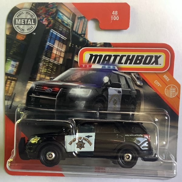 Matchbox | 2016 Ford Interceptor Utility Highway Patrol