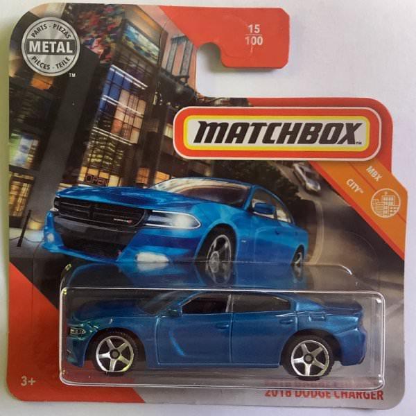Matchbox | 2018 Dodge Charger blue metallic