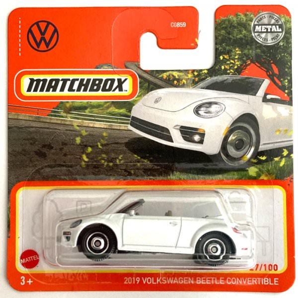 Matchbox | 2019 Volkswagen Beetle Convertible weiß