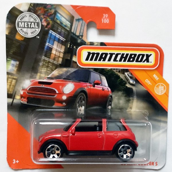 Matchbox | MINI Cooper S red / black