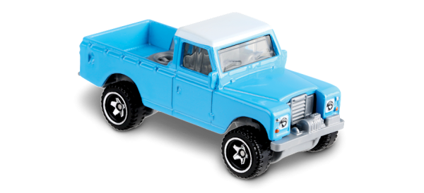 Hot Wheels | Land Rover Series III Pickup hellblau/weiß