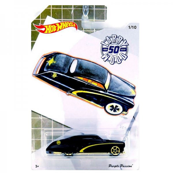 Hot Wheels | Larry Wood 50 Years of Design Purple Passion