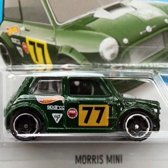 Hot Wheels | Morris Mini #77 grün DE